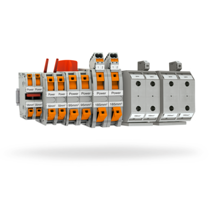 High-current terminal blocks