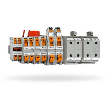 PTPOWER and UKH high-current terminal blocks
