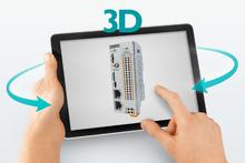3D-tuotenäkymä: CHARX control modular -AC-latauskontrolleri