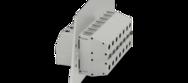 Zvenčí šroubové připojení TWIN, uvnitř šroubové připojení