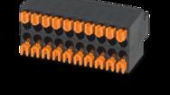 Rozteč 2,54mm (dvouřadé konektory)