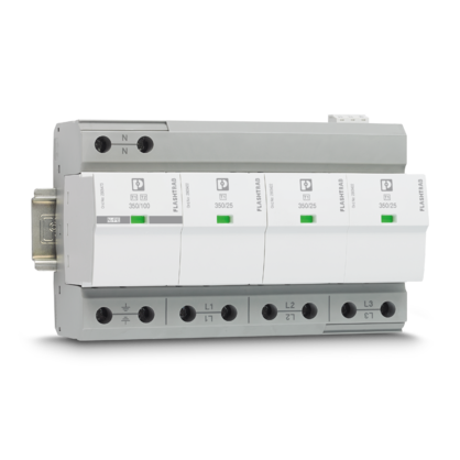 Surge protection for power supplies and mains protection