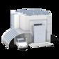 Cochera: cargador de pared individual sin conexión de comunicación