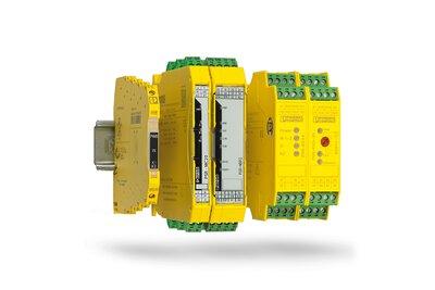 菲尼克斯電氣的安全繼電器模組