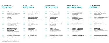 Konferenzagenda Dialog Days 2020