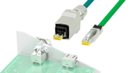 Industrial RJ45 cable connectors – for data transmission in accordance with CAT6A