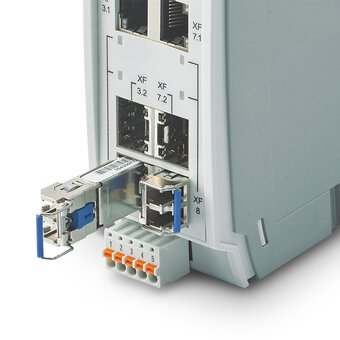 SFP modules from Phoenix Contact