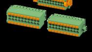 Rozteč 3,5mm (dvouřadé přímé konektory s push-in)