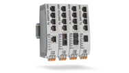Unmanaged Switches with fiberglass connections – quick and flexible installation