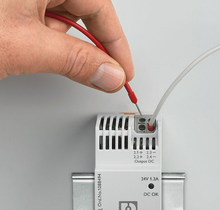 Push-in connection technology