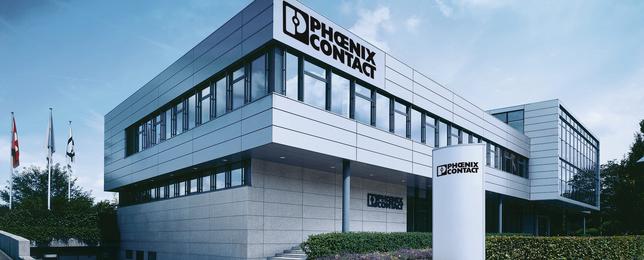 Gebäude Phoenix Contact AG Schweiz