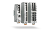 Unmanaged Switches in narrow design – quick and flexible installation