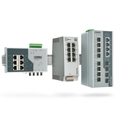 Industrial Ethernet Switches from Phoenix Contact