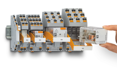 Solid-state relays and electromechanical relays from the RIFLINE complete series