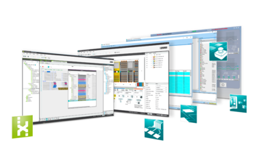 Engineering software, PLCnext Engineer, software for the entire automation application