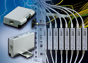 Surge protection for information technology