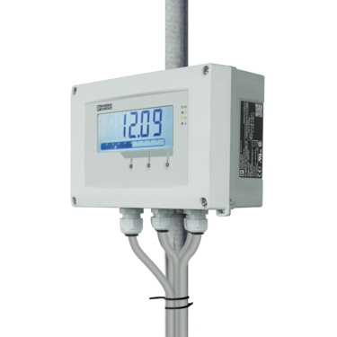Multifunctional process indicator in field housing