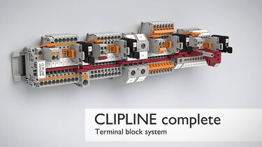 CLIPLINE complete terminal blocks