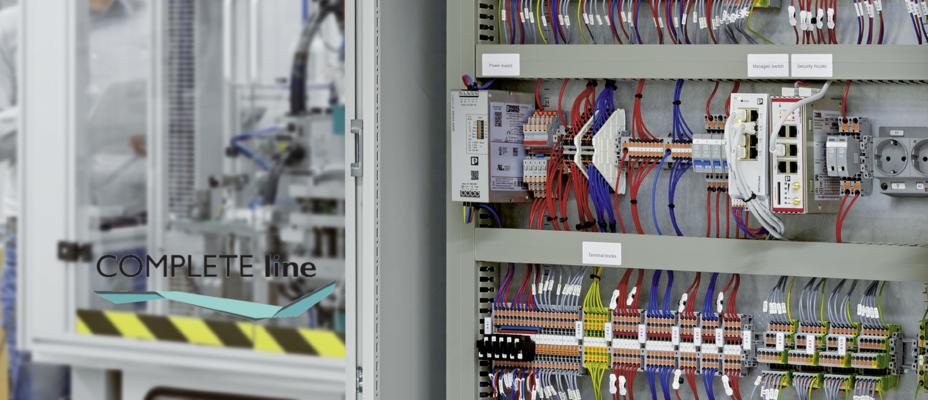 COMPLETE line - Kompletne rozwiązania do szafy sterowniczj