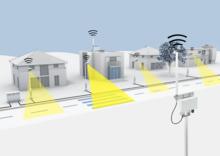 Tiedonsiirto LoRaWAN-yhdyskäytävän ja valonohjauslaitteiden avulla