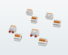 Push-in connectors with 3.5mm pitch