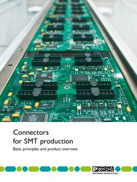 Connectors for SMT production brochure