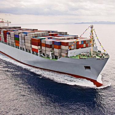 TRIO POWER for maritime use on a container ship