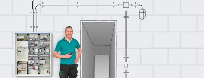 Elektrik tesisatları için çözümler