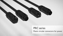 Rundsteckverbinder der Serie PRC