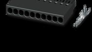 2.54mm pitch (crimp connection, single-row)