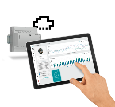 Directly to the cloud with EMpro energy measuring devices – without using a gateway