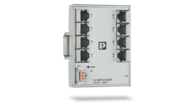 Managed Switches with a low-profile design – suitable for any control cabinet