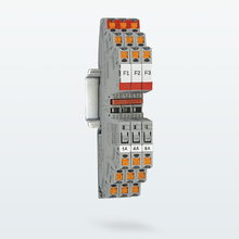 Narrow electronic circuit breakers – remote reactivation