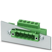 Feed Through Panel Mount Connector