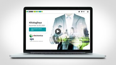 Meet us online. At the Phoenix Contact DIALOG DAYS. Our virtual trade fair for you.