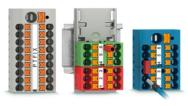 Push-in式接続ですぐに接続できる分岐ブロック