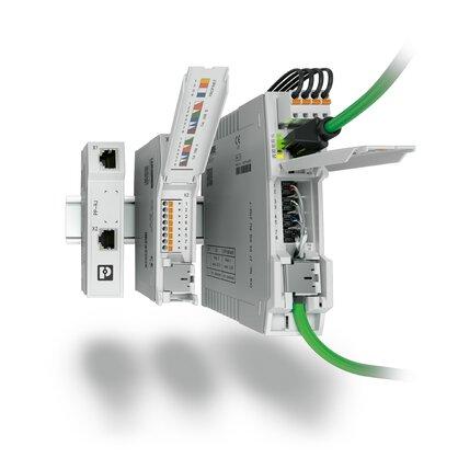 네트워크 설치 – 패치 패널 및 네트워크 아이솔레이터에서 SPF 모듈까지