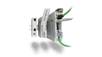 Patch Panels and PoE Injectors from Phoenix Contact