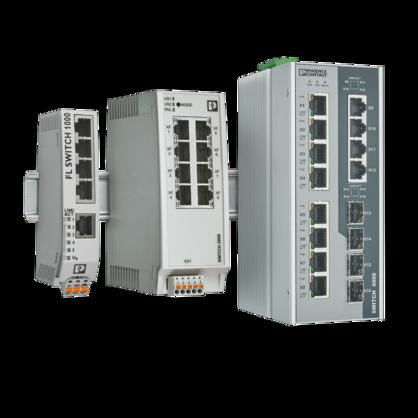 산업용 Ethernet 스위치