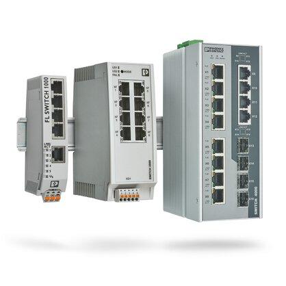 工业以太网交换机——工业级非管理型和管理型交换机