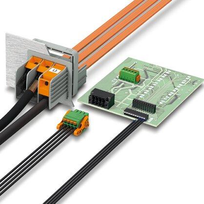 Blocs de jonction C.I et connecteurs pour circuits imprimés