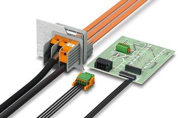 Blocs de jonction et connecteurs pour C.I.
