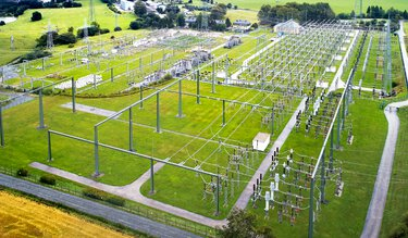 Substation from above