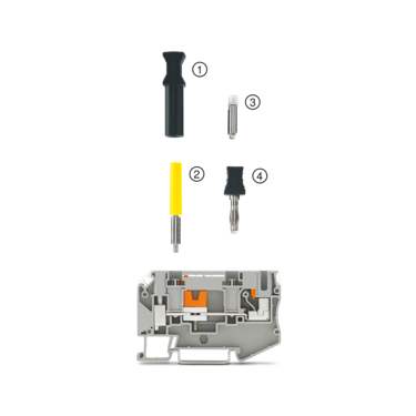 Transformer terminal block with accessories