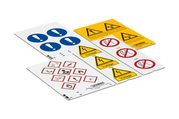 Plant marking for substations