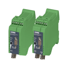 Two media converters for RS-232