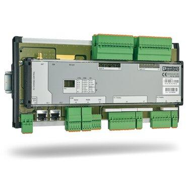 可自由程式設計的控制器,適合依照 CCS 或 CHAdeMO 以直流電實現模式 4 快速充電