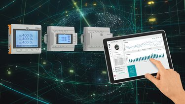 Intelligent energy monitoring with our energy and current measurement technology products