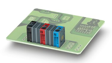 Blocs de jonction pour C.I. modulaires de la série SPT modular