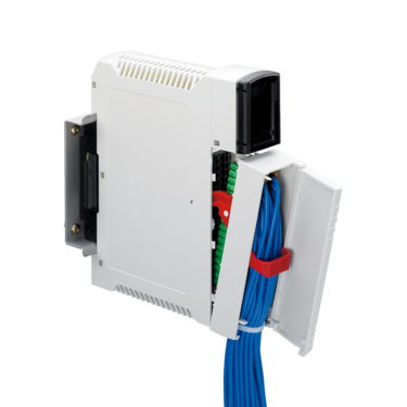 Plug-in front connection